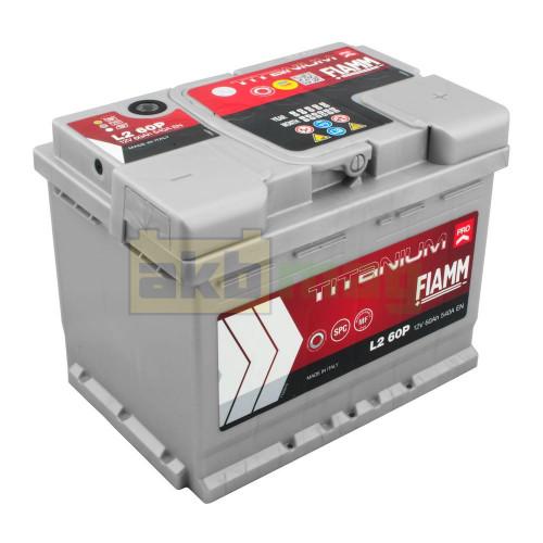 Автомобильный аккумулятор Fiamm 6СТ-60 Titanium Pro 540A