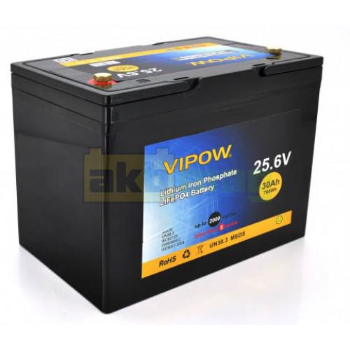 Аккумулятор Vipow LiFePO4 24V 30AH (BMS 25)
