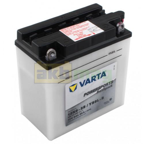 Мото аккумулятор Varta 6СТ-9 Funstart 12N9-3B/YB9L-B