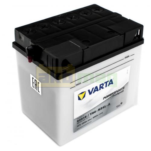 Мото аккумулятор Varta 6СТ-25 PowerSport 52515 (Y60-N24L-A)