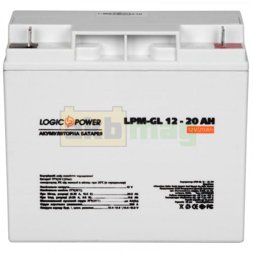 Аккумулятор LogicPower LPM-GL12-20