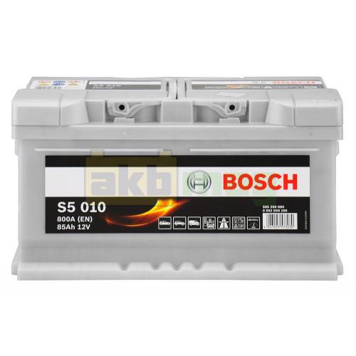Автомобильный аккумулятор Bosch 6СТ-85 S5 010 0092S50100