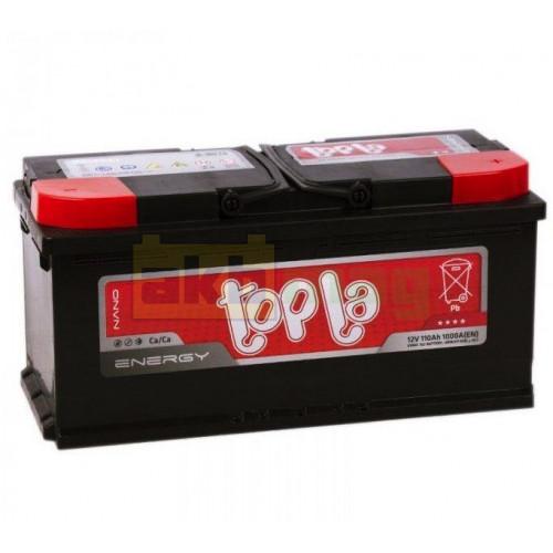 Аккумулятор Topla 6СТ-110 Energy