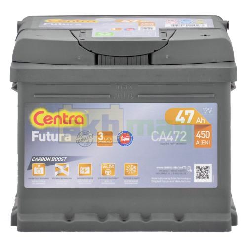 Автомобильный аккумулятор Centra 6СТ-47 Futura CA472