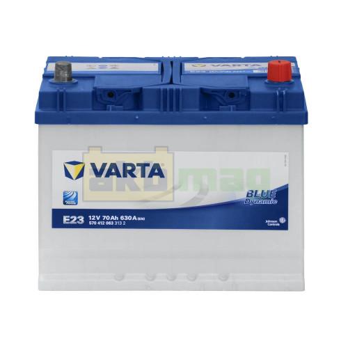 Автомобильный аккумулятор Varta 6СТ-70 E23 Blue Dynamic