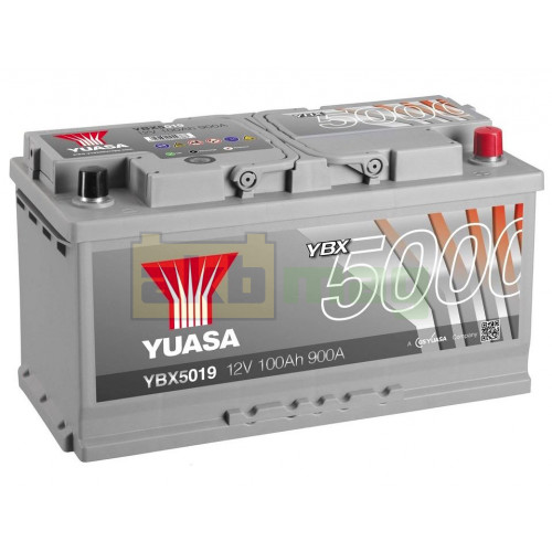 Автомобильный аккумулятор Yuasa 6СТ-100 SHP YBX5019