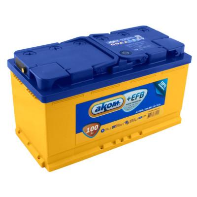 Автомобильный аккумулятор Аком 6СТ-100 EFB