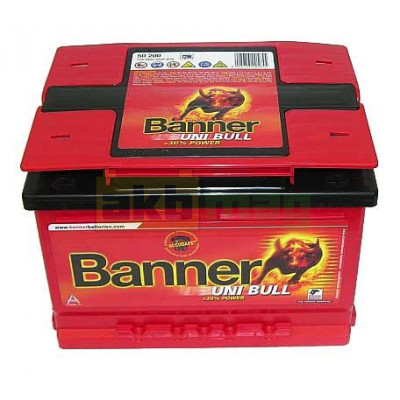 Автомобильный аккумулятор Banner 6СТ-58 Uni Bull 50200