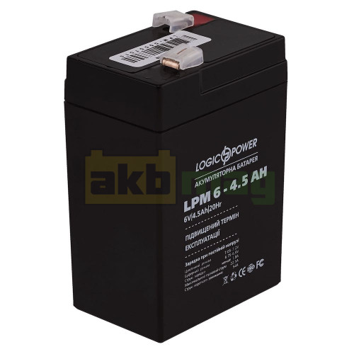 Аккумулятор LogicPower LPM6-4,5