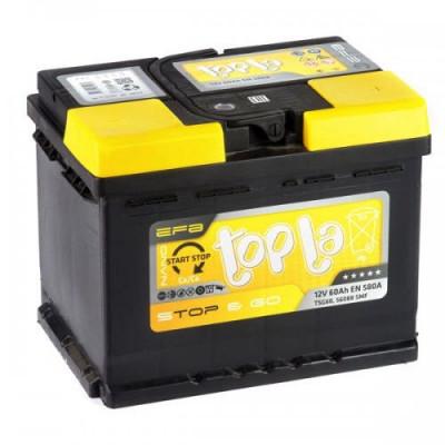 Автомобильный аккумулятор Topla 6СТ-60 Start-Stop EFB Euro