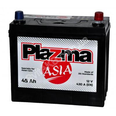 Автомобильный аккумулятор Plazma 6СТ-45 Asia