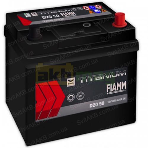 Автомобильный аккумулятор Fiamm 6СТ-50 Titanium Black
