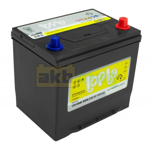 Автомобильный аккумулятор Topla 6СТ-60 Start-Stop EFB R