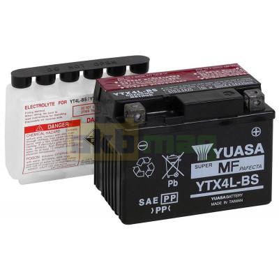 Мото аккумулятор Yuasa 6СТ-3 YTX4L-BS