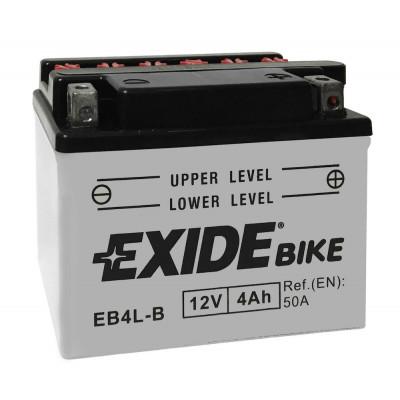 Мото аккумулятор Exide 6СТ-4 EB4L-B