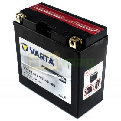 Мото аккумулятор Varta 6СТ-13 PowerSports AGM YT14B-BS
