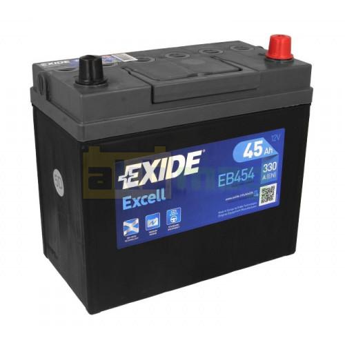 Автомобильный аккумулятор Exide 6СТ-45 Excell EB454