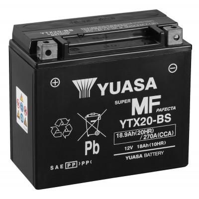 Мото аккумулятор Yuasa 6СТ-18,9 YTX20-BS