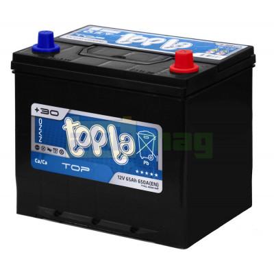 Автомобильный аккумулятор Topla 6СТ-65 TOP Japan L