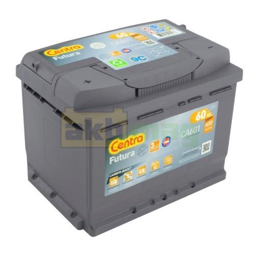 Автомобильный аккумулятор Centra 6СТ-60 Futura CA601