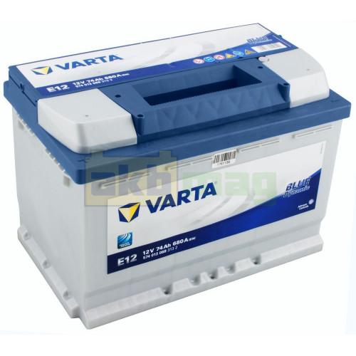 Автомобильный аккумулятор Varta 6СТ-74 E12 Blue Dynamic