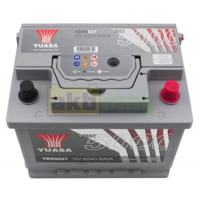 Автомобильный аккумулятор Yuasa 6СТ-65 SHP YBX5027