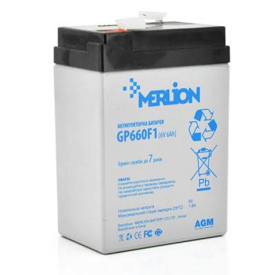 Аккумулятор Merlion GP660F1