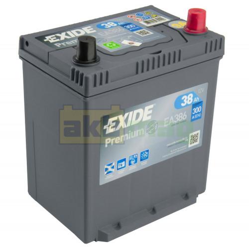 Автомобильный аккумулятор Exide 6СТ-38 Premium EA386