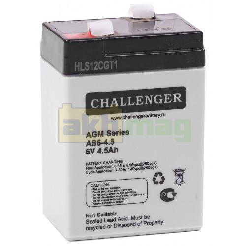 Аккумулятор Challenger AS6-4,5