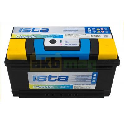 Автомобильный аккумулятор Ista 6СТ-90 Classic