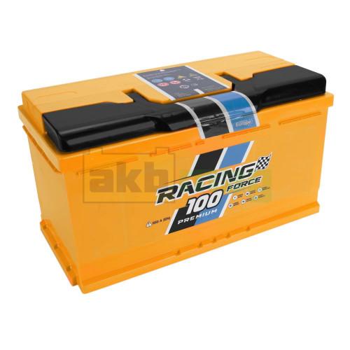 Автомобильный аккумулятор Racing Force 6СТ-100