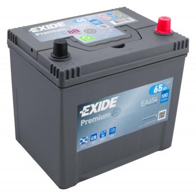Автомобильный аккумулятор Exide 6СТ-65 Premium EA654