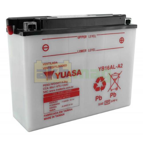 Мото аккумулятор Yuasa 6СТ-16,8 YuMicron YB16AL-A2
