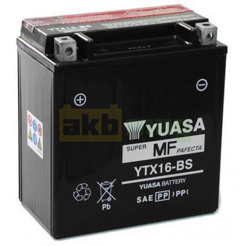 Мото аккумулятор Yuasa 6СТ-14,7 YTX16-BS