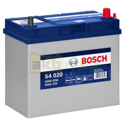 Автомобильный аккумулятор Bosch 6СТ-45 S4 020 0092S40200