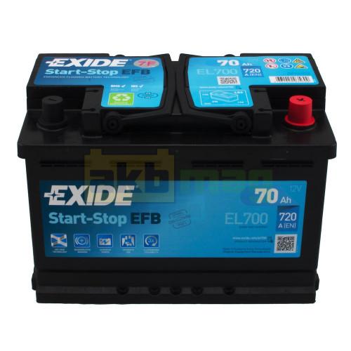 Автомобильный аккумулятор Exide 6СТ-70 Start-Stop EFB EL700