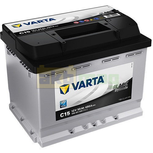 Автомобильный аккумулятор Varta 6СТ-56 C15 Black Dynamic