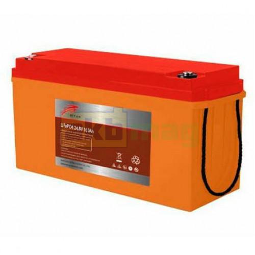 Аккумулятор Ritar LiFePO4 24V 100AH (BMS 100)