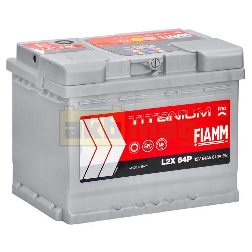 Автомобильный аккумулятор Fiamm 6СТ-64 Titanium Pro