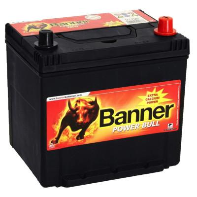 Автомобильный аккумулятор Banner 6СТ-60 Power Bull P6062