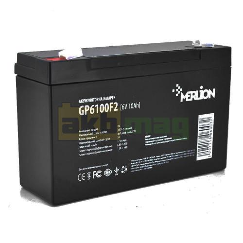 Аккумулятор Merlion GP6100F2