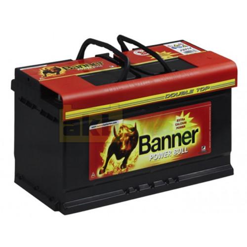 Автомобильный аккумулятор Banner 6СТ-80 Power Bull P8014