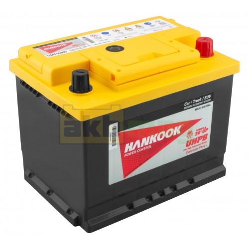 Автомобильный аккумулятор Hankook 6СТ-68 UMF 56800