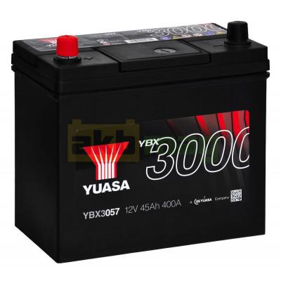 Автомобильный аккумулятор Yuasa 6СТ-45 SMF YBX3057