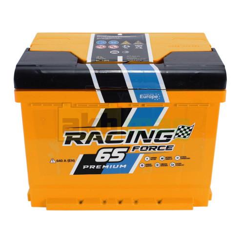 Автомобильный аккумулятор Racing Force 6СТ-65