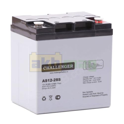 Аккумулятор Challenger AS12-28S