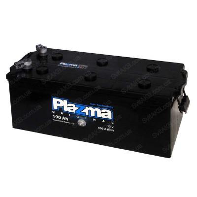 Грузовой аккумулятор Plazma 6СТ-190 Original