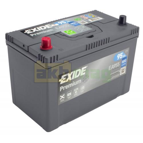 Автомобильный аккумулятор Exide 6СТ-95 Premium EA955