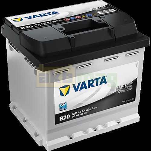 Автомобильный аккумулятор Varta 6СТ-45 B20 Black Dynamic