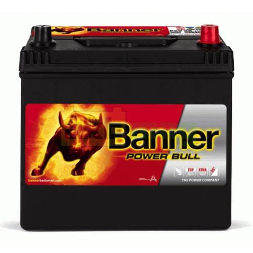 Автомобильный аккумулятор Banner 6СТ-60 Power Bull P6068